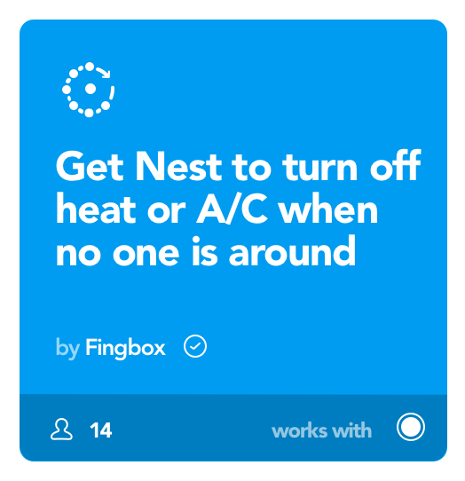 Image of Nest automation with Fingbox